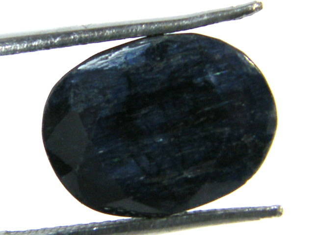 NATURAL METALLIC SHEEN BLUE SAPPHIRE STONE 8.35 CTS SGS 295