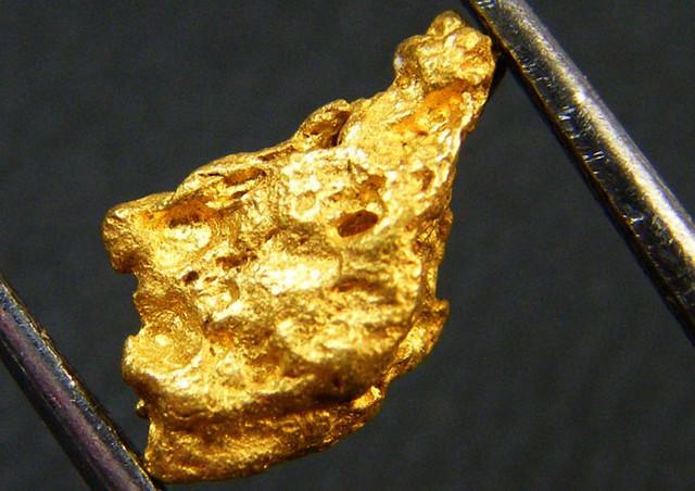 AUSTRALIAN GOLD NUGGET 1.64 GRAMS  LGN 272