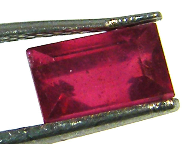 F/S CRYSTAL CLEAR VS GRADE SPARKLING REDRUBY 1.15 CTS RM 234