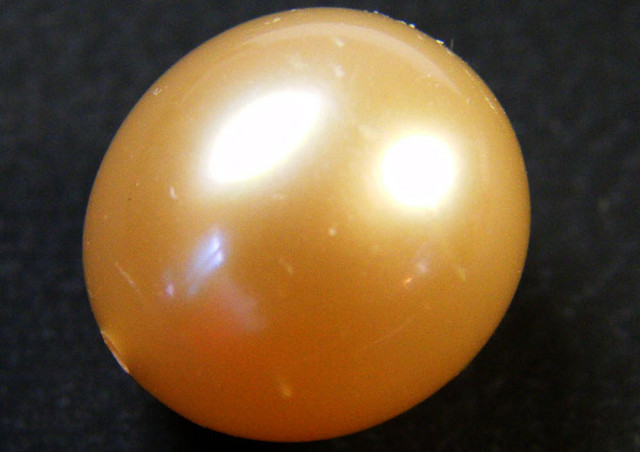 CHINESE FRESH WATER CULTURED PEARL 7.65 CTS SG 1116