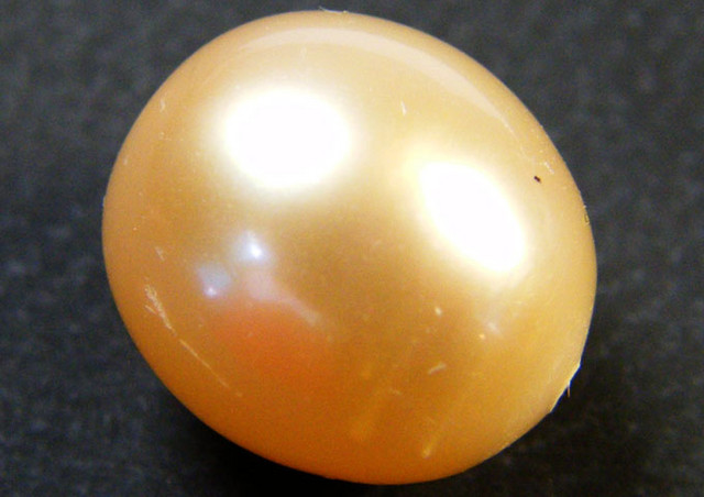CHINESE FRESH WATER CULTURED PEARL 7.60 CTS SG 1125