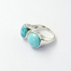 Natural Turquoise Ring,925 Sliver Ring (mggTOP16072602)