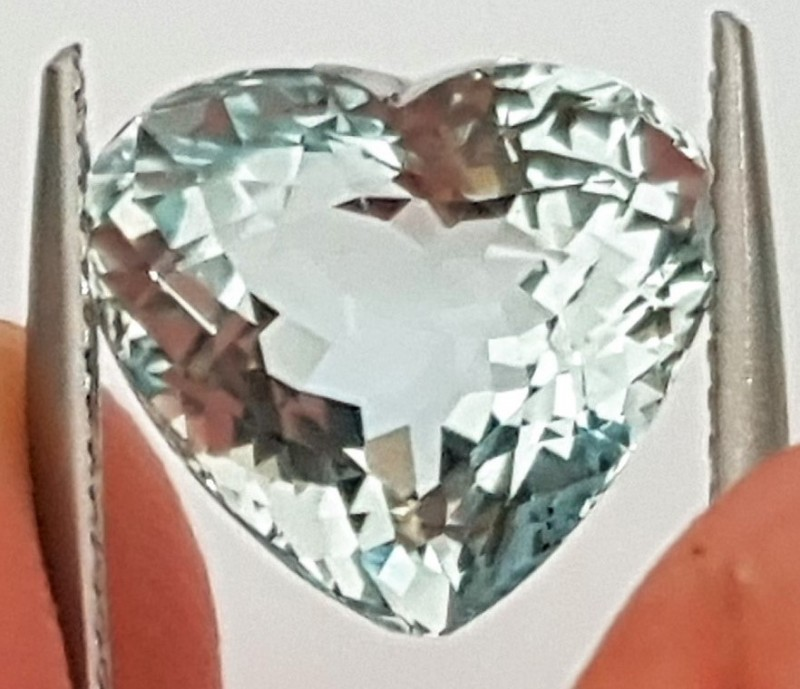 4.32cts Aquamarine,   Untreated, Calibrated