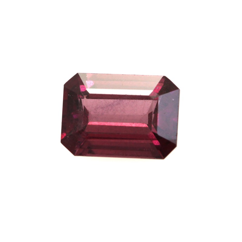 1.39cts Natural Rhodolite Garnet Emerald Cut