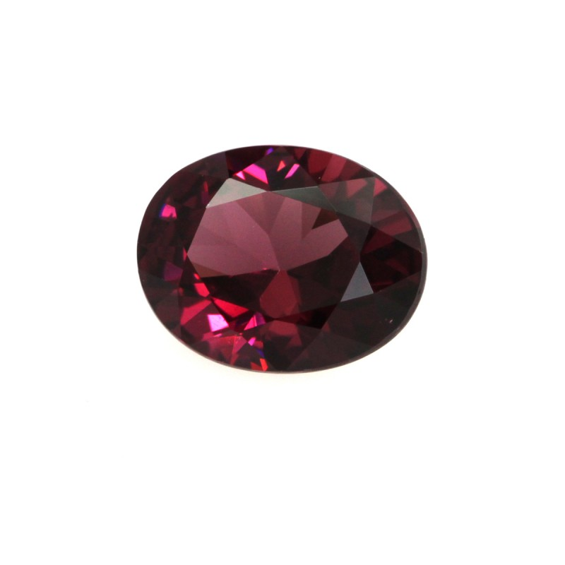 2.43cts Natural Rhodolite Garnet Oval Cut
