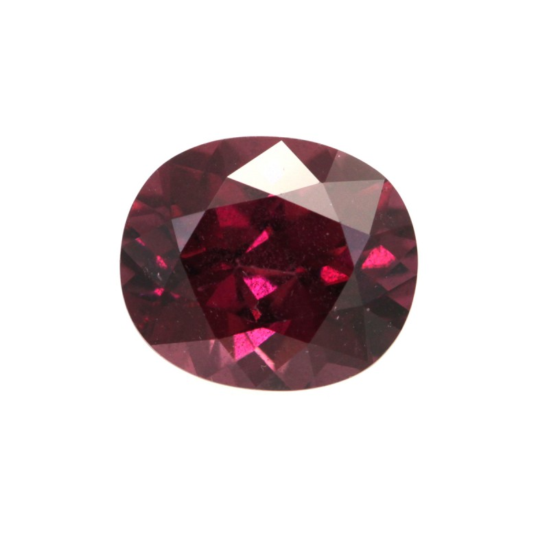 1.80cts Natural Rhodolite Garnet Oval Cut