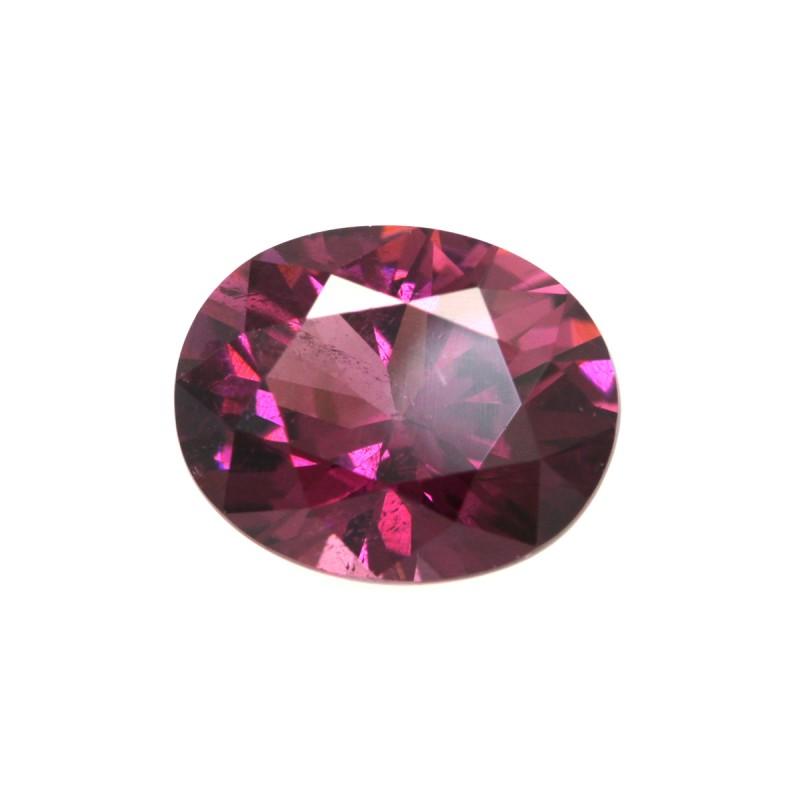 2.54cts Natural Rhodolite Garnet Oval Cut