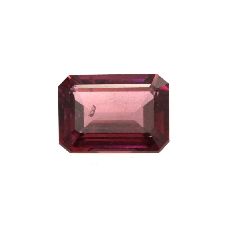 1.36cts Natural Rhodolite Garnet Emerald Cut