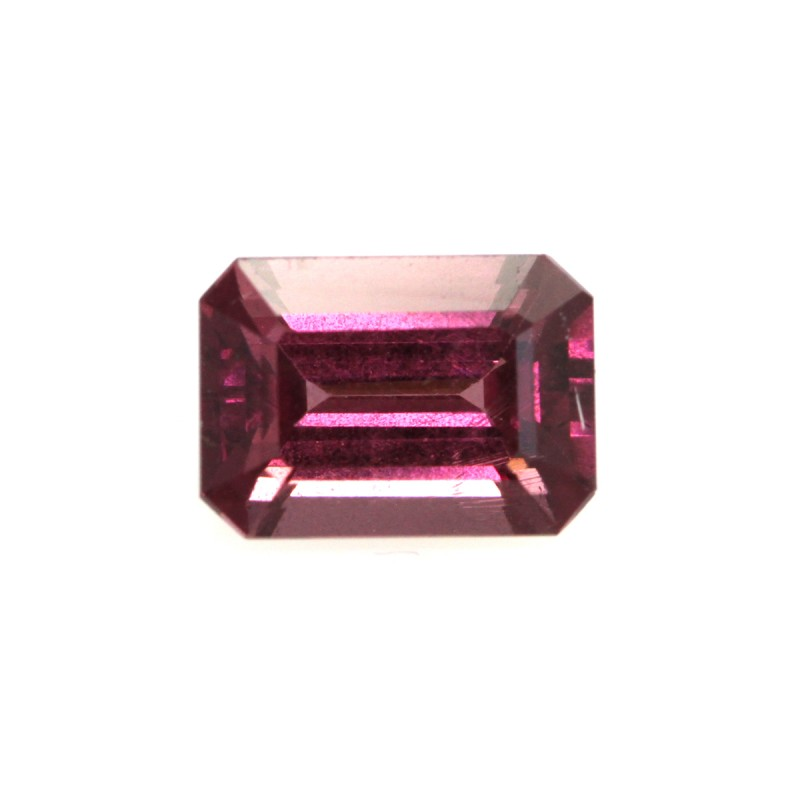 1.27cts Natural Rhodolite Garnet Emerald Cut