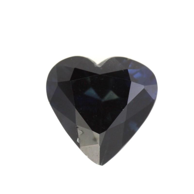 1.38cts Natural Australian Blue Sapphire Heart Shape