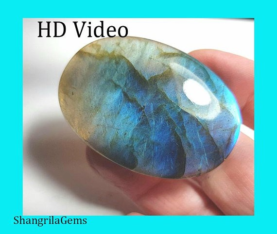 51mm labadorite cabochon oval cabochon 134ct 51 by 37 by 9mm