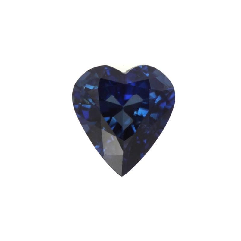 1.14cts Natural Australian Blue Sapphire Heart Shape