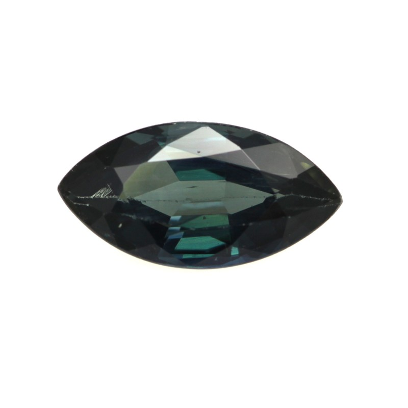 2.98cts Natural Australian Blue Sapphire Marquise Shape