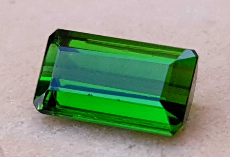 1.30 Cts Tourmaline Greenish Small Gemstone~~ Made For Rings
