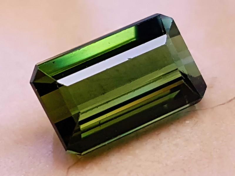3.30 Cts Tourmaline Yellowish Green Flawless Gemstone~~~~ Madagascar