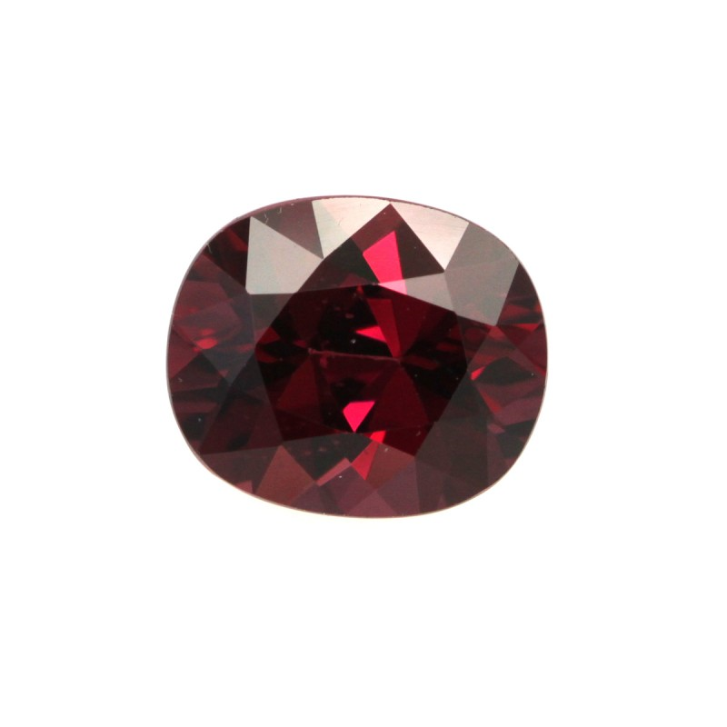 2.16cts Natural Rhodolite Garnet Cushion Cut