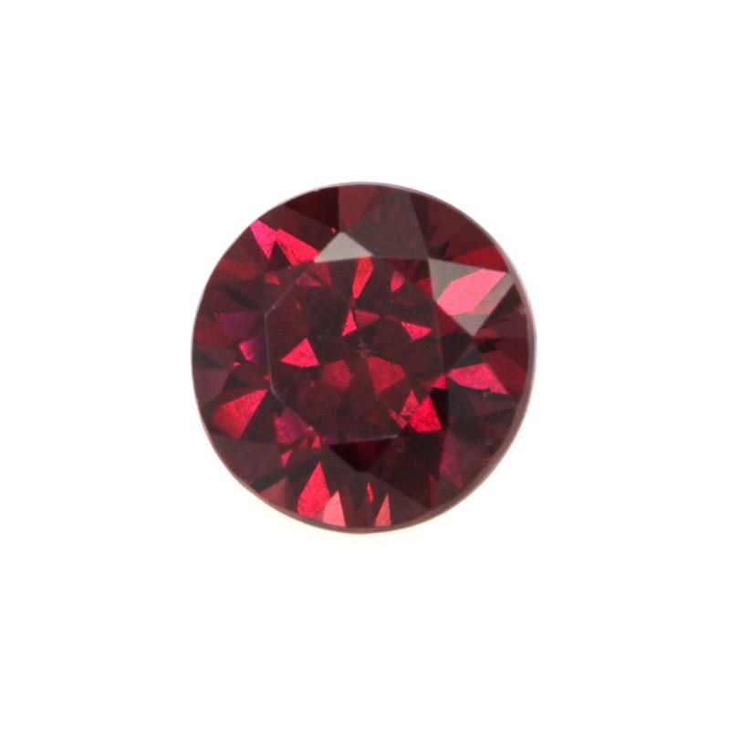 2.01cts Natural Rhodolite Garnet Round Cut