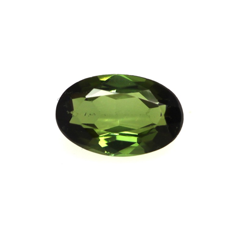 0.44cts Natural Green Tourmaline Oval Cut