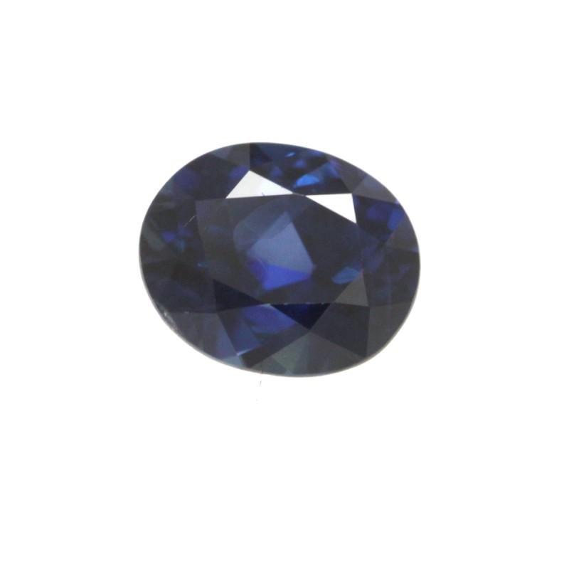 0.83cts Natural Australian Blue Sapphire Oval Shape