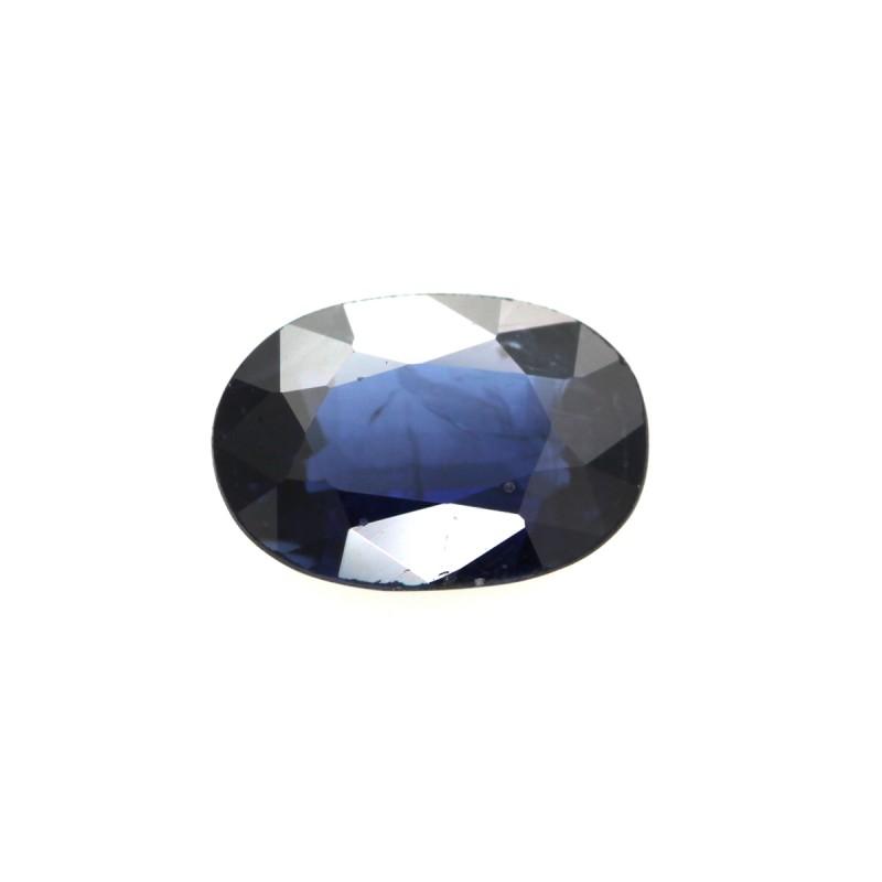 0.78cts Natural Australian Blue Sapphire Oval Shape
