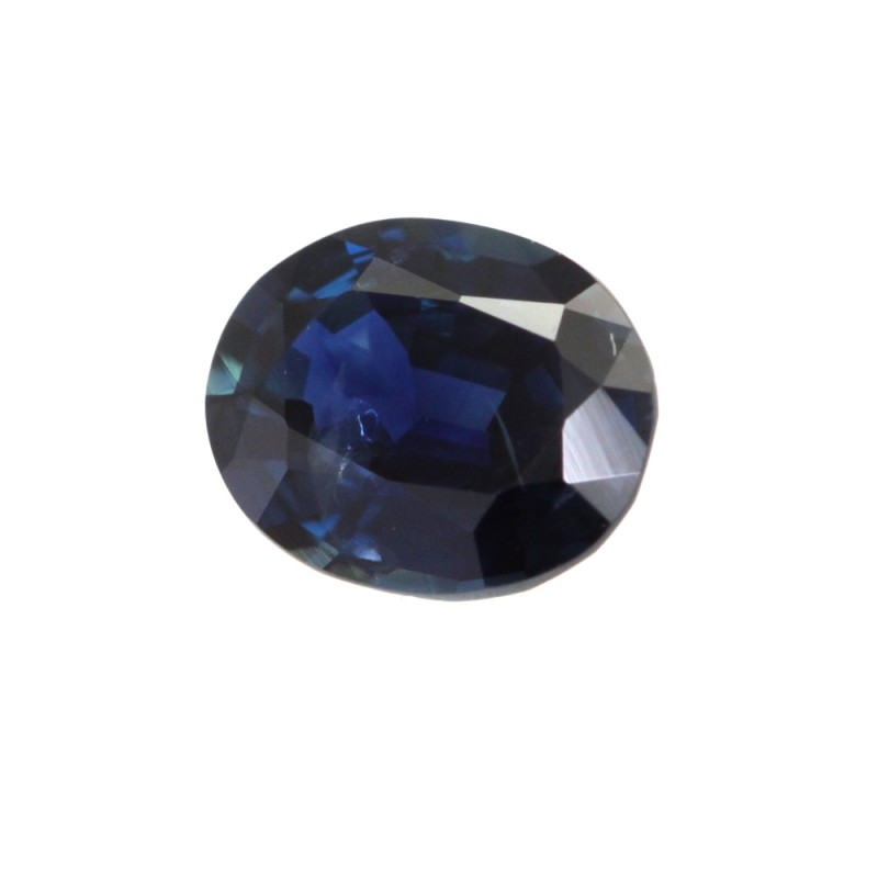 0.84cts Natural Australian Blue Sapphire Oval Shape