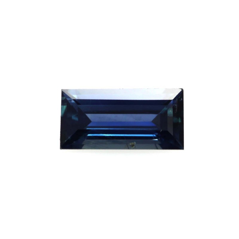 0.56cts Natural Australian Blue Sapphire Baguette Shape