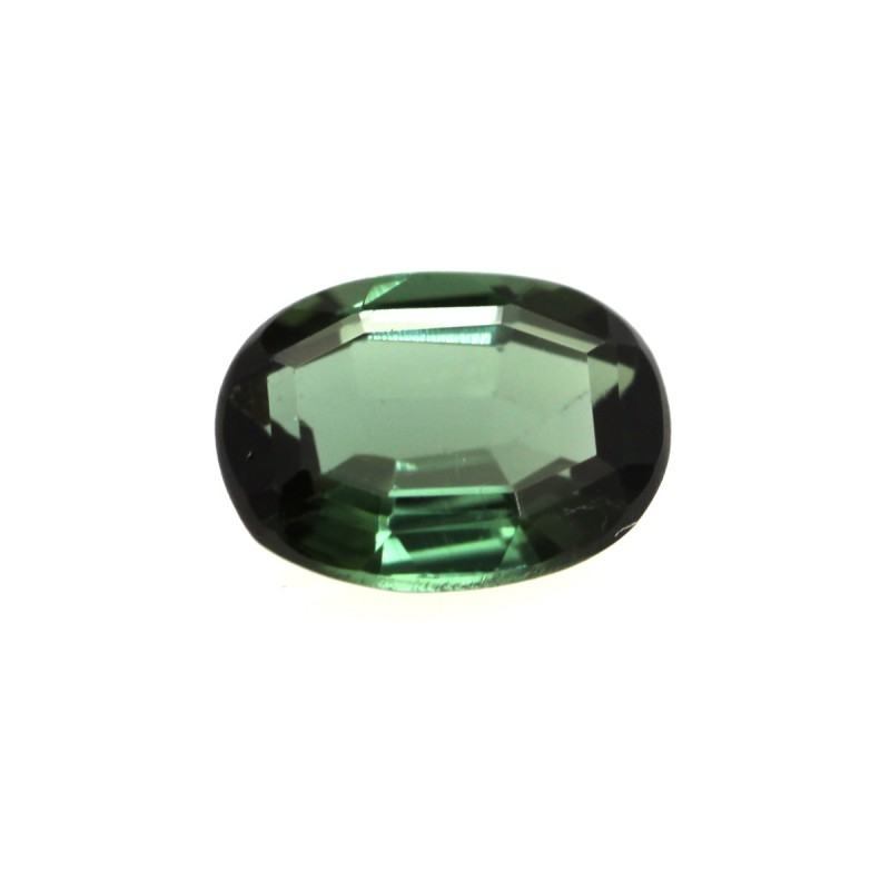 0.56cts Natural Green Tourmaline Oval Cut