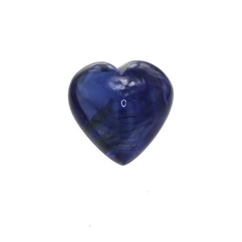 2.04cts Natural Australian Blue Sapphire Heart Cabochon Shape