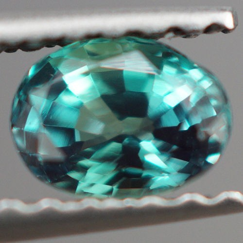 0.50 ct ONE OF A KIND! DARK BLUISH GREEN ALEXANDRITE TOP COLOR CHANGE