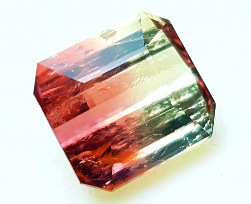 5.25 Cts Tourmaline Bi Color Gemstone~~~~ Madagascar