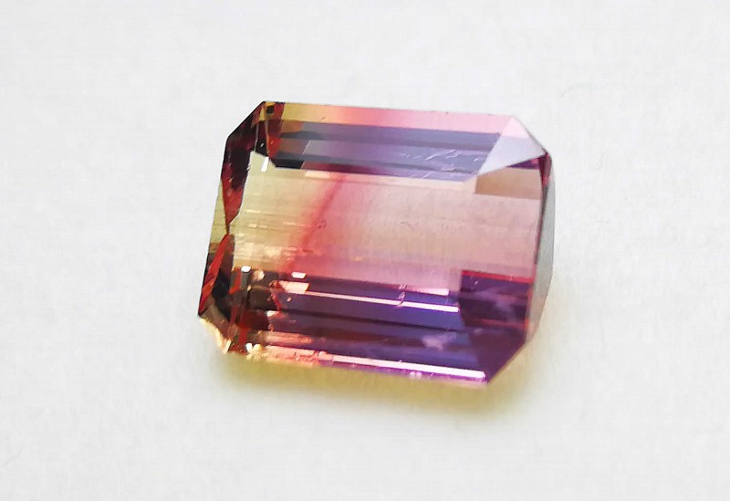 5.55 Cts Tourmaline Bi Color & Pinkish Eye Clean Gemstone~~~ Africa
