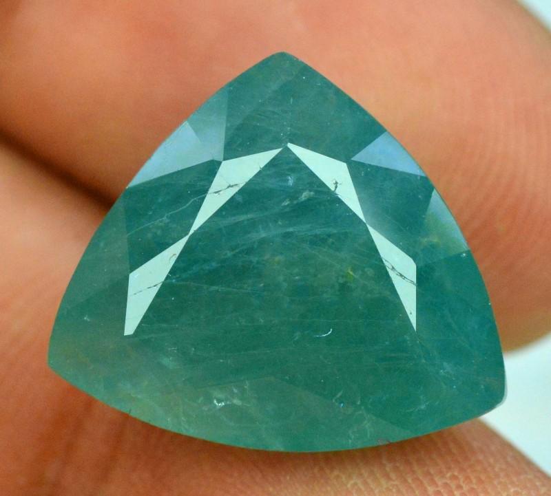 14.21 cts Certified  Trillian Curved Cut  Rare Grandidierite Gemstone  From