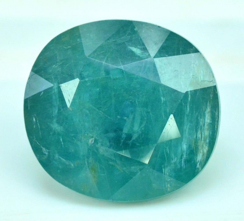 7.365 cts Certified Oval Cut Rare Grandidierite Gemstone From Madagascar