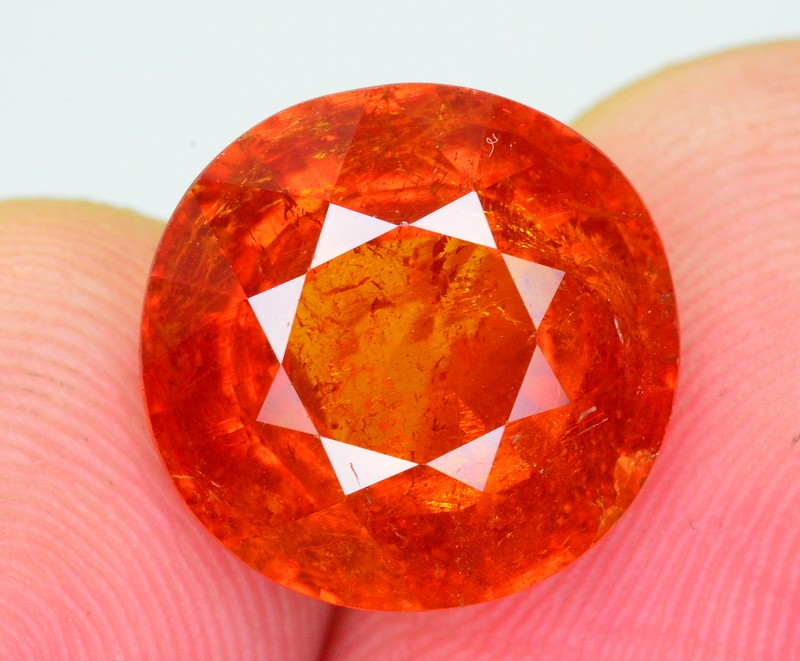 11.50 Ct Marvelous Color Natural Spessartite Garnet