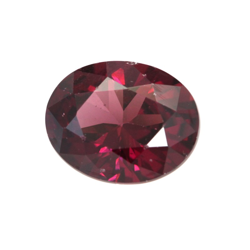 3.42cts Natural Rhodolite Garnet Oval Cut
