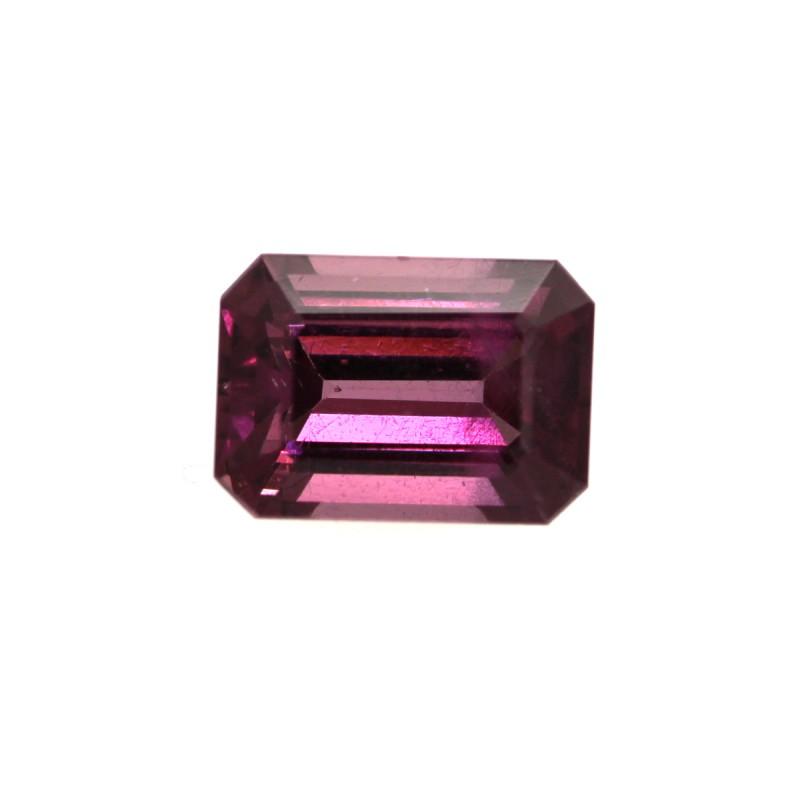 1.29cts Natural Rhodolite Garnet Emerald Cut