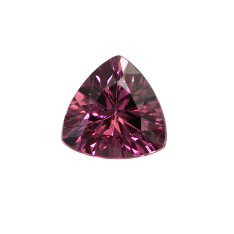 1.06cts Natural Rhodolite Garnet Trillion Cut