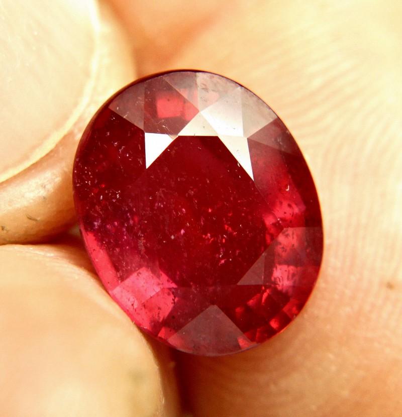 6.08 Carat Fiery Ruby - Gorgeous