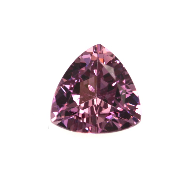 0.91cts Natural Rhodolite Garnet Trillion Cut
