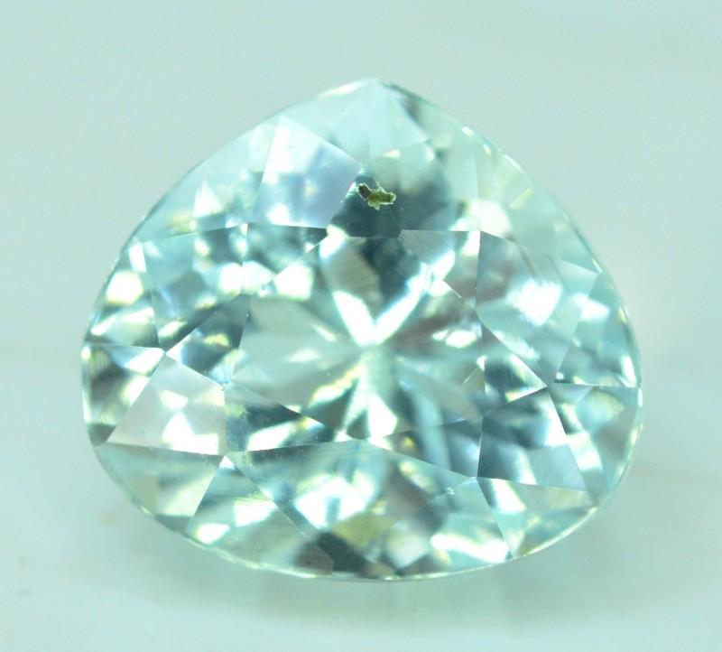 4.20 cts Untreated Aquamarine Loose gemstone from Pakistan (MR)
