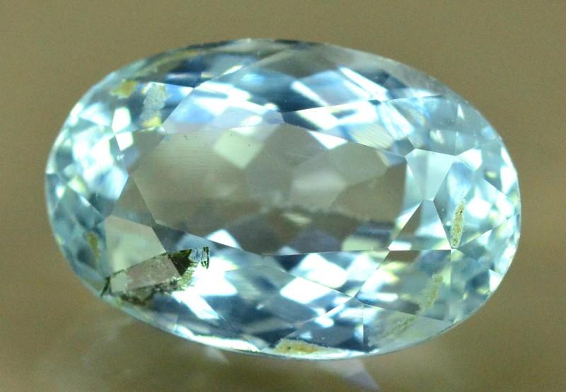 5 cts Untreated Aquamarine Loose gemstone from Pakistan (MR)