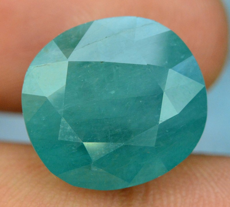 Certified 12.31 cts Oval cut  Rare Grandidierite Gemstone From Madagascar
