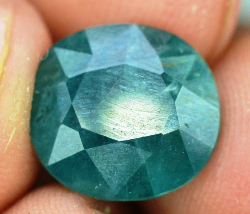 5.60 cts Certified Oval Cut Rare Grandidierite Gemstone From Madagascar