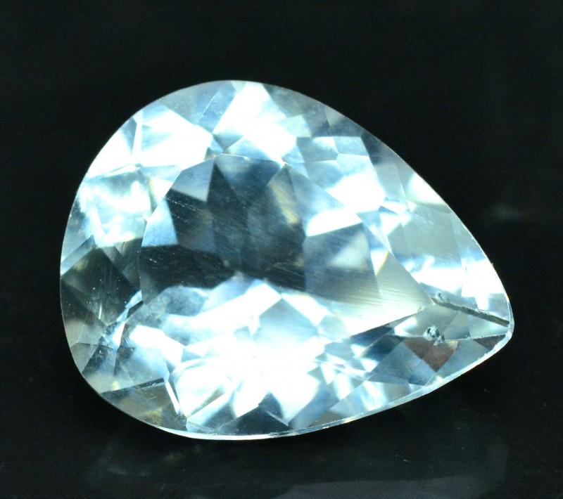 5.35 carats Pear Shape Natural Aquamarine Gemstone from Pakistan