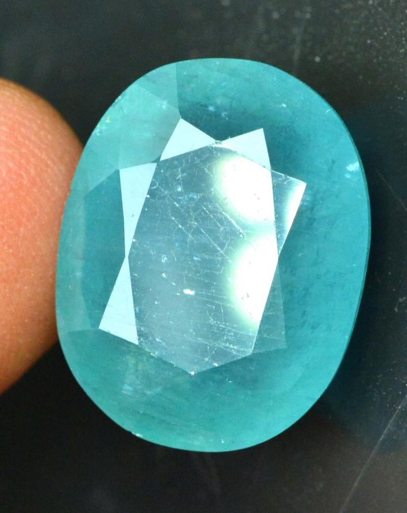 12.38 cts Certified oval Cut Rare Grandidierite Gemstone