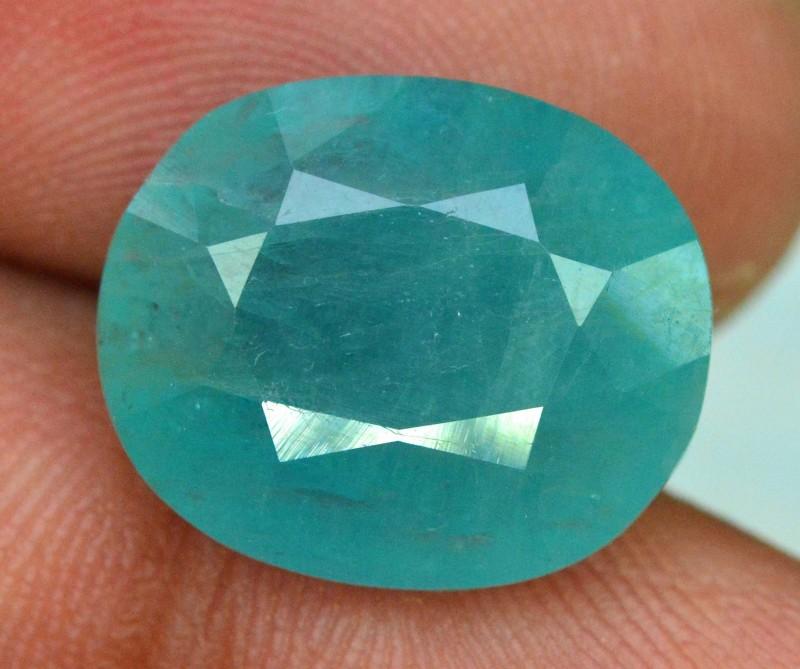 9.21 cts Certified oval Cut Rare Grandidierite Gemstone
