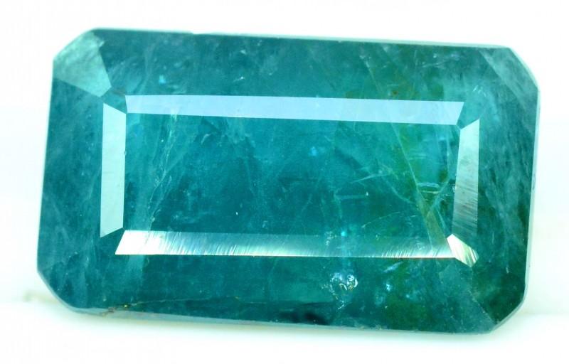 4.58 cts Certified octagonal Cut Rare Grandidierite Gemstone