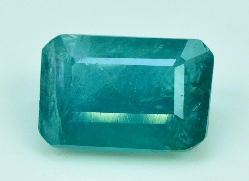 3.50 cts octagonal Cut Rare Grandidierite Gemstone