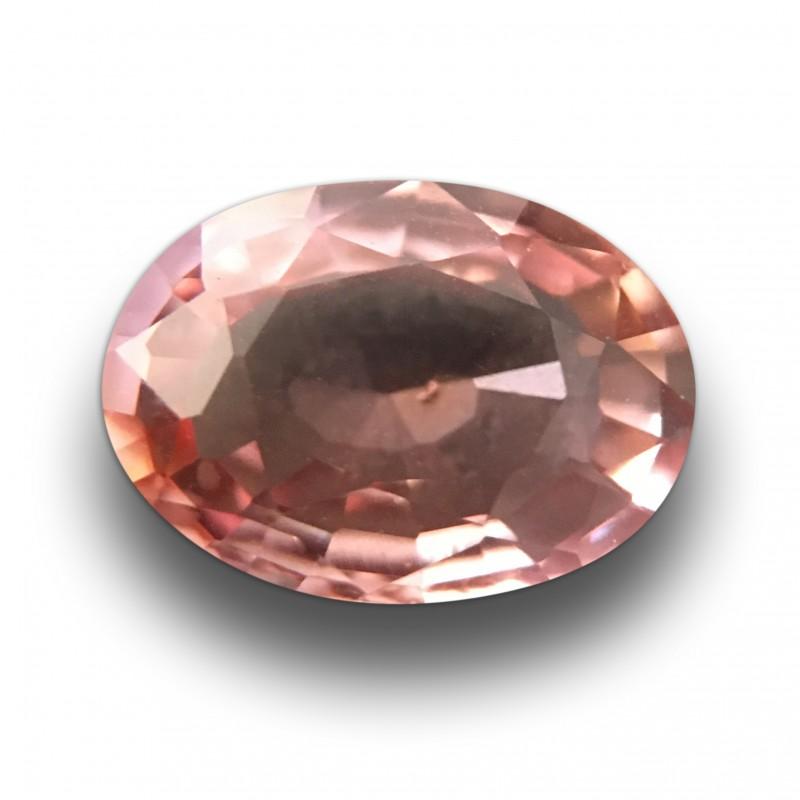 Natural Pink Orange Sapphire|Loose Gemstone| Sri Lanka - New