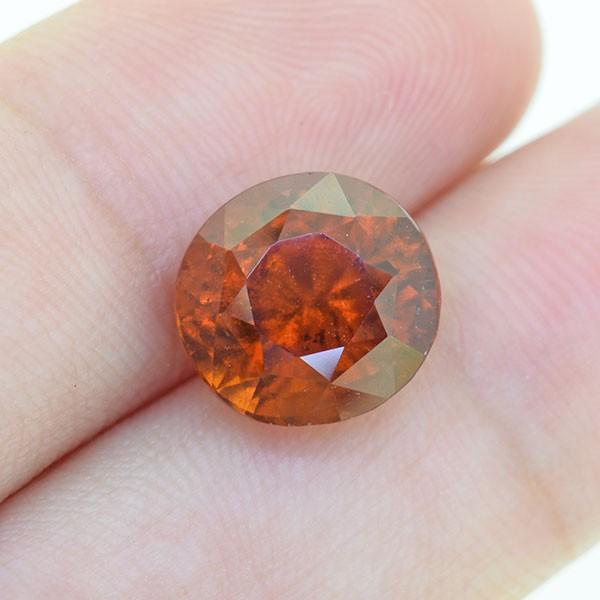 BIG Natural Untreated Hessonite Garnet 5.10 Ct.(00795)